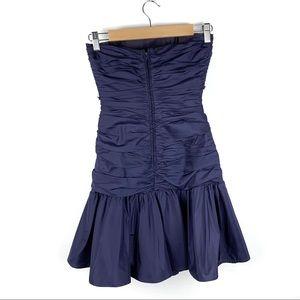 Betsey Johnson Dresses - SALE Betsey Johnson Evening Blue Strapless Dress 2